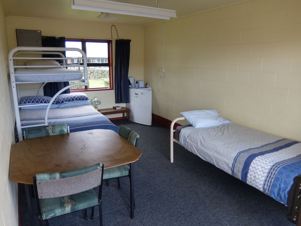 Cabin two at Balclutha Motorcamp